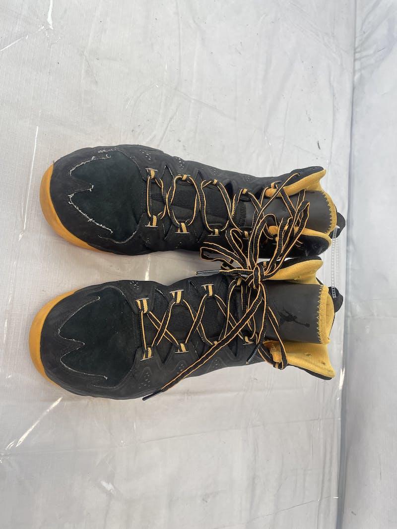 Used Jordan Melo M10 Mid 'Black Atomic Mango' 629876-013 Mens 10.5 Basketball Shoes