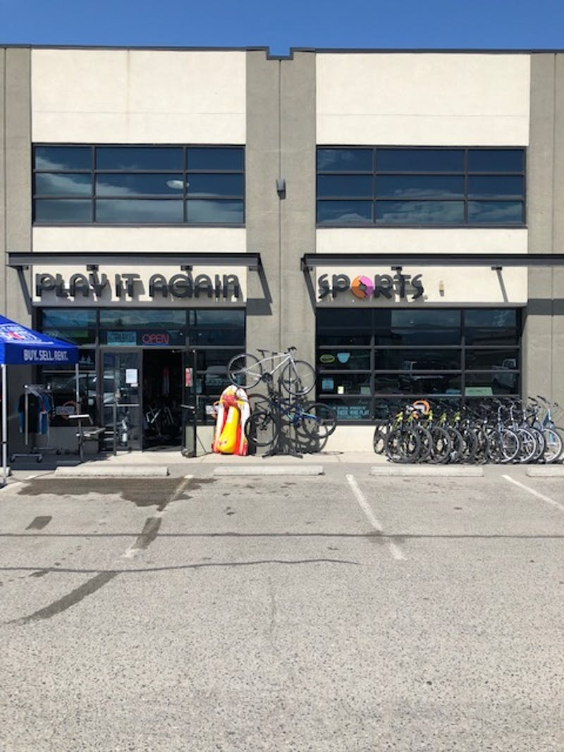 New Used Sports Equipment And Gear Play It Again Sports Kelowna Bc
